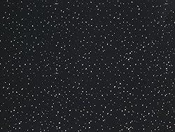 Black Sparkle 1m x 2.4m Shower Wall Panels Bathroom PVC Cladding Wet Wall By DBS