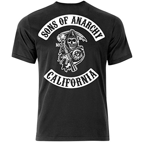 Sons Of Anarchy Afghanistan T Shirt (Medium)