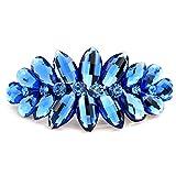 Mode moderne hair clips accessoires/ cheveux Barrette/ printemps carte Crystal-C