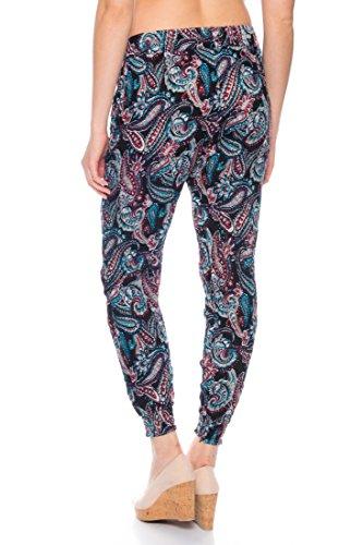 Dress Sheek -  Pantaloni  - Donna BL224-13-Schwarz
