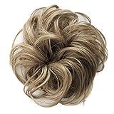 PRETTYSHOP Scrunchy Scrunchie Bun Up Do Hair Piece Hair Ribbon Ponytail Extensions Wavy Messy Darkblond # 16 G9B