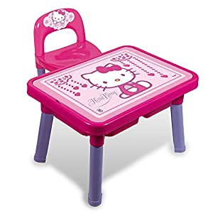 androni 8901 00hk table multi jeux avec chaise hello kitty jeux et jouets. Black Bedroom Furniture Sets. Home Design Ideas