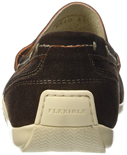 Flexible Herren 8534190 Mokassin Braun (Marrone)