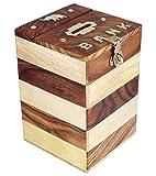 ITOS365 Handicrafted Wooden Money Bank K...
