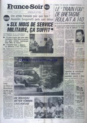 REALITES [No 337] du 01/02/1974 - BAUBOURG - UN MUSEE-VILLAGE OU ECLATERA LA VIE PAR PONTUS HULTEN - LA FRANCE DOMINEE PAR LES POUVOIRS PARALLELES PAR PIERRE VIANSSON-PONTE - UNE NOUVELLE ARME DES MALADES POUR AIDER LES MEDECINS A LES GUERIR PAR LE DOCTEUR RAGER - CE QUE REVELENT LES IMAGES CACHEES DES MEGALITHES PAR HENRY BAR - SEPT NUITS SUR UN VOLCAN PAR GERARD VAUTEY - UN FAUTEUIL POUR CHANGER LA VIE PAR MARC HELD - DEFENDRE LE PARADIS DU MERCANTOUR PAR CHRISTIAN BOITEL ET ROGER SETTIMO - LE