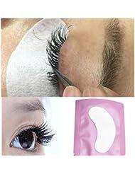 50 paires Protections oculaires Coussinet pour les cils Gel Patch Lint individual Lashes Extension Masque pour les yeux