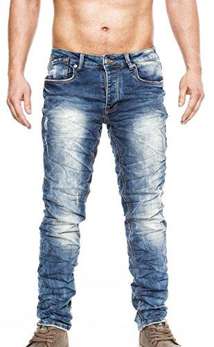 8008 One Public Herren destroyed Jeans mit Stretch