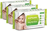 BodyGuard Baby Wet Wipes with Aloe Vera - 72 Wipes
