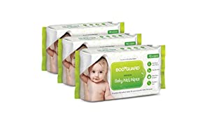 BodyGuard Baby Wet Wipes - (3 Packs, 72 Wipes per Pack)