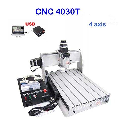 4030T, macchina per fresatura CNC a 4assi, da 400mm x 300mm; 3assi...