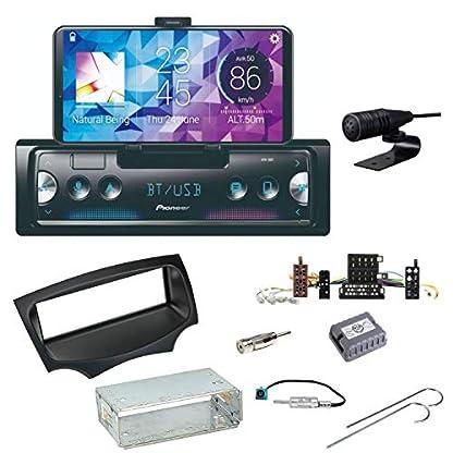 Pioneer-SPH-10BT-Bluetooth-Autoradio-USB-AUX-MP3-FLAC-AAC-WAV-Einbauset-fr-Ford-KA-RU8