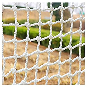 HWJ Child Safety Net,Decor Net Protection Fence Climbing Woven Rope Truck Cargo Trailer Netting Net Mesh Nets,for Rail Balcony Banister Stair Playground Children Indoor Decoration Outdoor   2