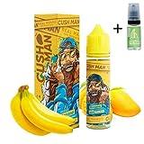 E Liquid Nasty Juice Cush Man Mango Banana 50ml - 70vg 30pg - booster shortfill + E Liquid The Boat 10 ml lima limón - Para cigarrillo electrónico.