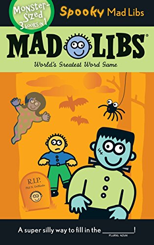 Spooky Mad Libs