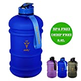skilly Trinkflasche Ypo Bottle 2.2L/ Die Optimale Trinkflasche für Den Sport, Arbeit und für Zuhause. (Frozen Blue)