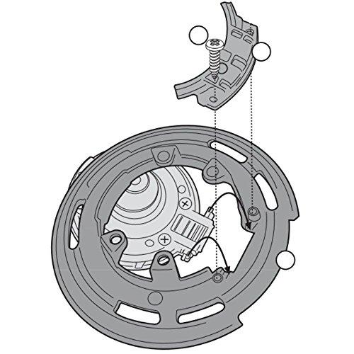 Imagen de givi bf22 fijación lock  de depósito solo para tapa depósito sin tornillos