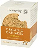 Clearspring Organic Traditional Oatcakes 200 g (Pack of 6)
