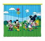 Gardine/Vorhang FCS xl 4307 Kinderzimmer Disney Mickey Mouse