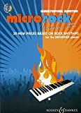 Microrock: 20 new pieces based on rock rhythms for the beginner pianist. Klavier. Ausgabe mit CD.