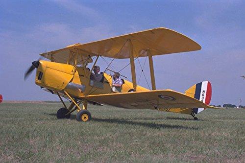 450067 De Havilland Tigermoth World War II Denton Texas A4 Photo Poster Print 10x8