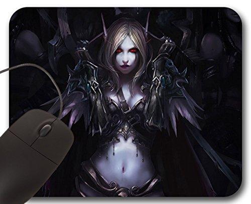 Mousepad Sylvanas Windrunner - Tappetino per Mouse WOW - World of Warcraft (World Of Warcraft Mouse Pad)