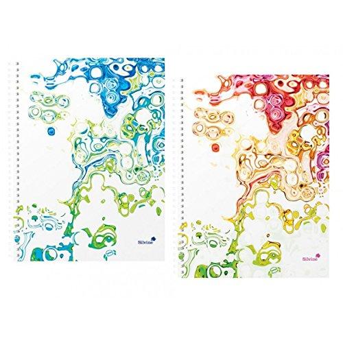 silvine-a4-cahier-a-spirales-surf-carnet-160-pages-et-stylo