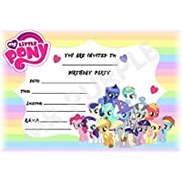 My Little Pony Birthday Party Invites