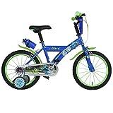 16 Zoll Disney Monster Uni Kinderfahrrad Mike Sulley Fahrrad Stützräder ab ca 4 Jahre