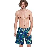 TT El ocio masculino de ocio rápido se divierte con cinco puntos de pantalones de playa,Pantalones cort,XL
