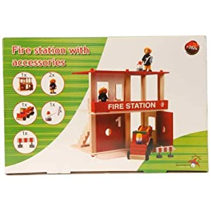Marionette – Fire Station with accessories by Marionette