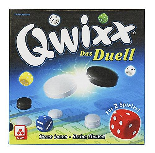 NSV - 4042 - QWIXX DAS DUELL - Taktikspiel für 2 Spieler - Würfelspiel