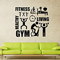 Adesivo da parete Sport ispirazione per Home Decor GYM - Nursery Wallpaper Murales
