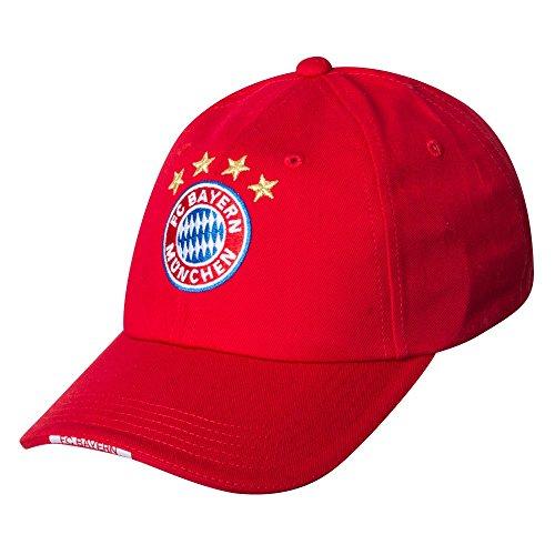 FC Bayern München Baseballcap Snapback LOGO 20467 (Trikot Baseball-herren)
