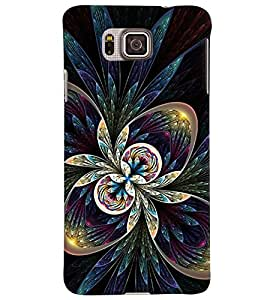 GADGET LOOKS PRINTED BACK COVER FOR SAMSUNG GALAXY ALPHA MULTICOLOUR