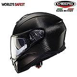#8: Caberg Drift Carbon Full Face Double Visor Helmet -L