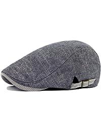 6f7ea5487003a Leisial Sombreros Gorras Boinas Gorra de Béisbol Ocio Retro Clásico del  Algodón Gorra de Deport Hat