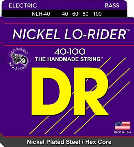 DR String NLH-40 Nickel Lo-Rider Set di corde per basso