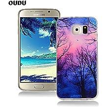 2a131fbf95b OuDu Funda para Samsung Galaxy S6 Carcasa Protectora Caso Silicona TPU  Funda Suave Soft Silicone Case