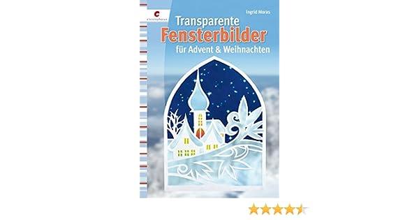 Transparente Fensterbilder Für Advent Weihnachten Amazonde