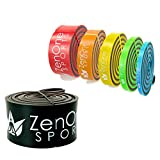 ZenBands Power XX-Heavy Pull up Resistance Bands I Sportband in 6 Stärken inkl. Gratis E-Book & Workout-Guide I Das Premium Trainings-Band für Crossfit, Krafttraining, Stretching & Klimmzug-Hilfe