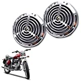 #10: Enfieldzone Small Size Silver Grill Horn For All Royal Enfield