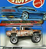 Attack Pack Series #1 Nissan Truck #2000-21 Collectible Collector Car Mattel Hot Wheels 1:64 Scale