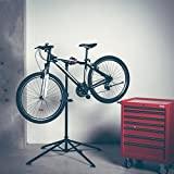 Ultrasport Bike Stand Expert, robust bike stand, also suitable for mountain bikes – repair stand for all types of bikes up to 30 kg, with useful features for fixing your bike