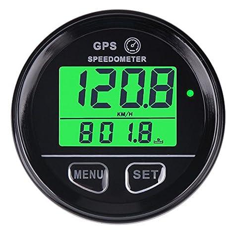 searon GPS numérique rétroéclairage Compteur de vitesse Compteur Compteur avec