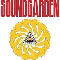 SkyBug SoundGarden Rock Band Red Yellow Logo Bumper Sticker Vinyl Art Decal for Car Truck Van Window Bike Laptop