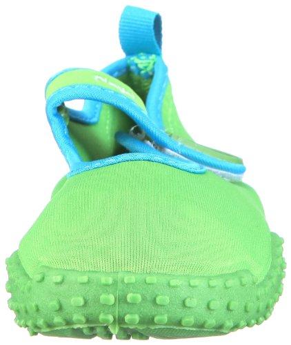 Playshoes Aquaschuhe, Badeschuhe klassisch mit UV-Schutz, 174797 Unisex-Kinder Dusch & Badeschuhe Grün (grün 209)