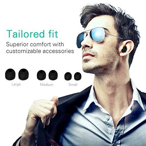 HolyHigh Bluetooth Kopfhörer in Ear Bluetooth Headset Stereo-Minikopfhörer mit Ladekästchen und integriertem Mikrofon für Android und iPhone … - 5