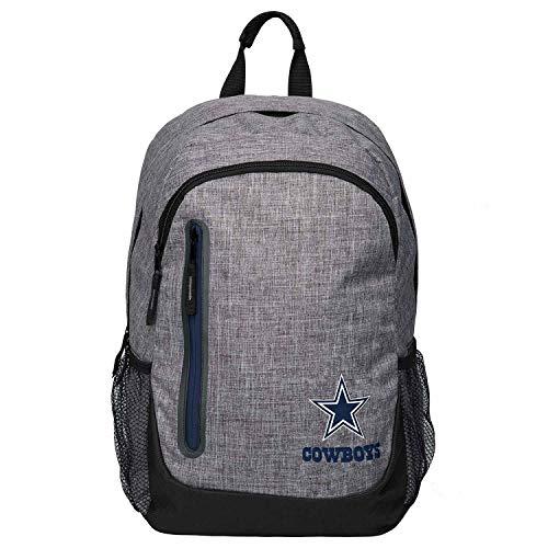 Forever Collectibles FOCO Dallas Cowboys Bold Grey NFL Rucksack