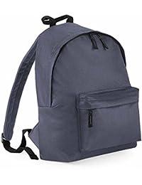 Bag base - Sac à dos école loisirs - BG125 - gris graphite - 18L - mixte homme / femme