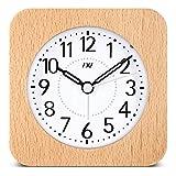 Best Human Alarm Clocks - Tradico TXL Wooden Desktop Snooze Alarm Clock Backlight Review